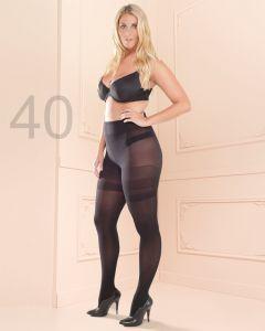 Trasparenze curvy panty Sibilla 40